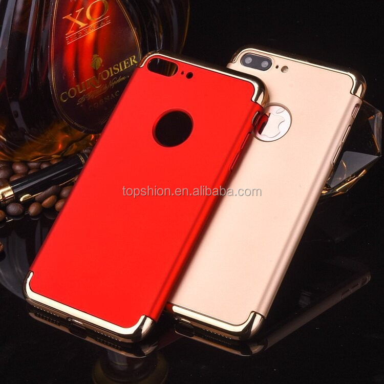 Wholesale price for iphone 7 hard pc case 3 in 1 case back cover, China supplier