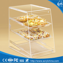 2017 whole acrylic bread box food grade acrylic acrylic containers for food