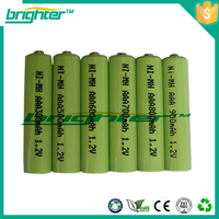 aaa nimh 450mah sunrise rechargeable battery from china