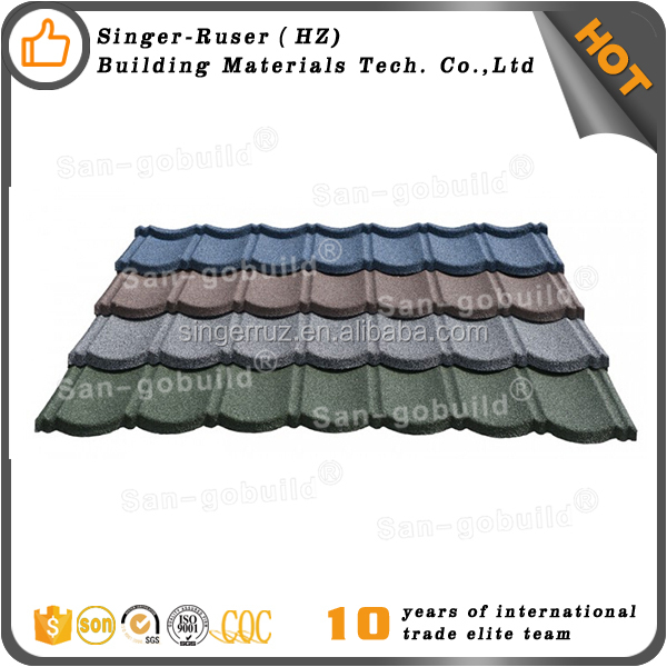 Different Colored Roofing Granules for Various Houses