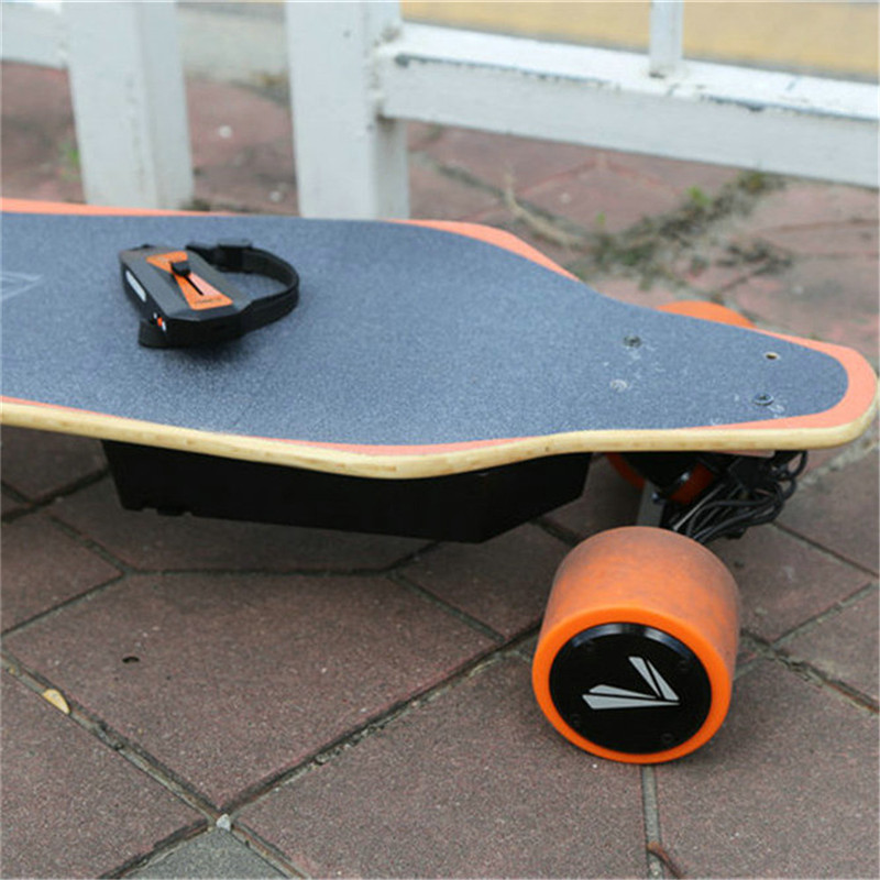 electric skateboard offroad with dual hub motor smart e-boards