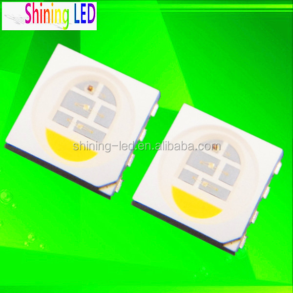 Hot New Products for 2016 PLCC-8 0.3W SananChip SMD LED 5050-RGBW