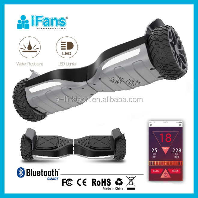 UL2272 6.5 inch auto-balancing Hyper Hoverboard,800w motor,LG BATTERY,with Bluetooth & APP,waterproof & Anti-fire body