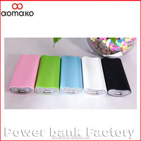 2016 New model mobile phone chargers 5000mah with flashlight for all smart phones