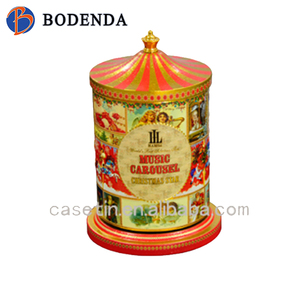 christmas gift tins/ musical box/metal tin box wholesale