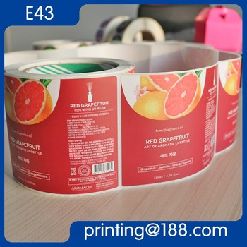 Custom Printed Roll Adhesive Glossy/Matte Film Laminated Paper Sticker