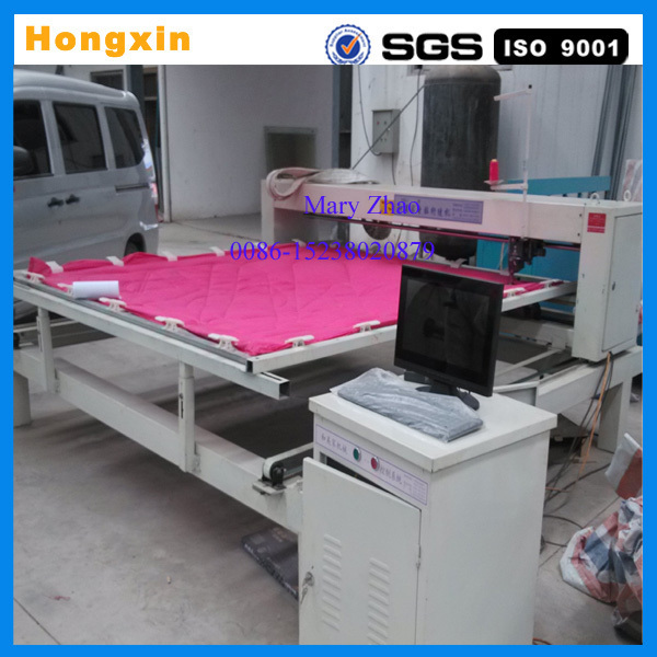computer controling industrial single needle quilting machine price