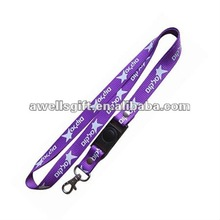 Customized Lanyard Strap Badge ID Detachable Keychain