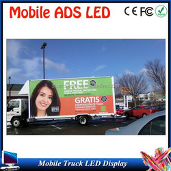 first choice for ADS tools easy installation advertising P10 led display truck original big factory support OEM