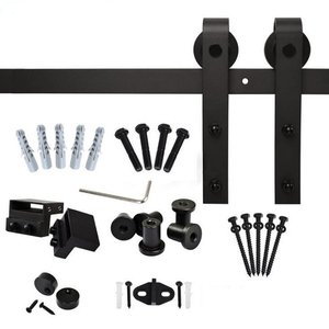Best Price Black Sliding Barn Door Hardware Manufacturers
