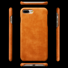 Mobile Phone Accessories Real Leather Cell Phone Cover Case For iPhone 8 plus