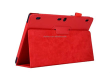 Wholesale in stock for Lenovo TAB 2 A10-70 10.1 inch tablet PU case cover