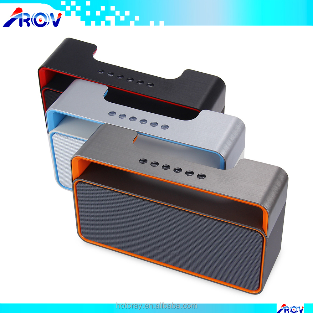 Portable Music Sound Box DY25 2.1CH Stereo HIFI Mini Wireless Bluetooth Speaker with MP3 FM Radio AUX Hands-free