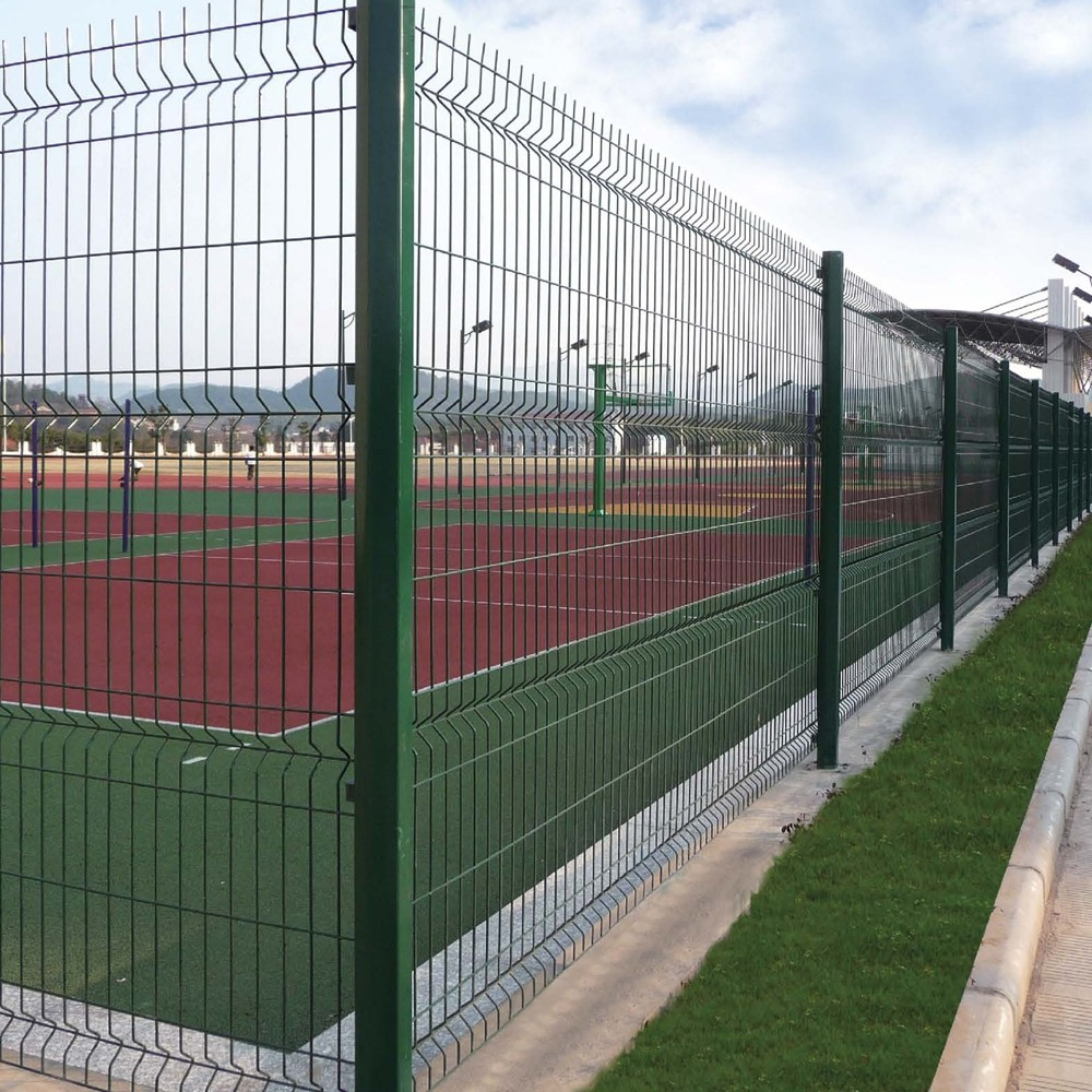 2016 hot selling 2x2 welded wire mesh fence panels in 6 gauge.