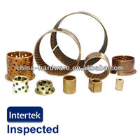 Oilite bearings,bronze bushing,according to the drawing Selflubricant bush