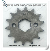 Front sprocket fit 14T 428 motorcycle chain sprocket