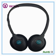 Headband Style for airline, Function wired headphones for laptop