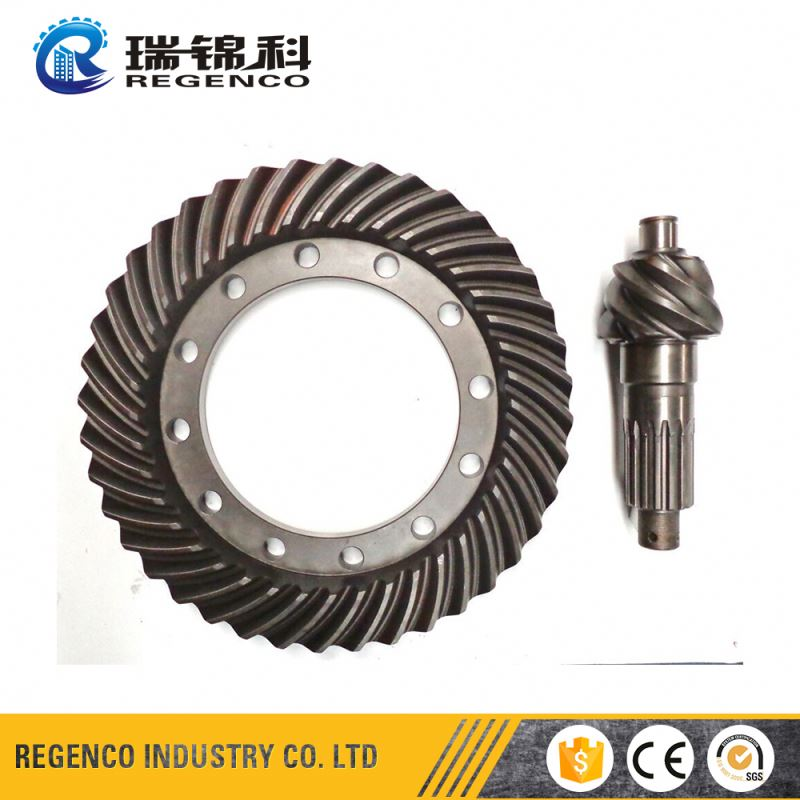 Internal Helical Carbon Steel Spur Flywheel Ring Gear