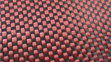 3K Red and Black carbon fiber & Aramid hybrid plate , carbon fiber prepreg plate , acrylic sheet