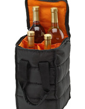 High Quality Wine Carrier Tote Bag with Thick External Padding