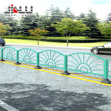 Safety roadside traffic barrier crowed control galvanized steel barricades portable fence usa highway guardrail