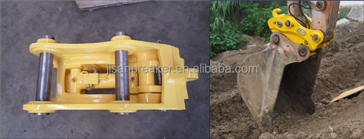 quick hitch for excavator for quick coupler with safe lock