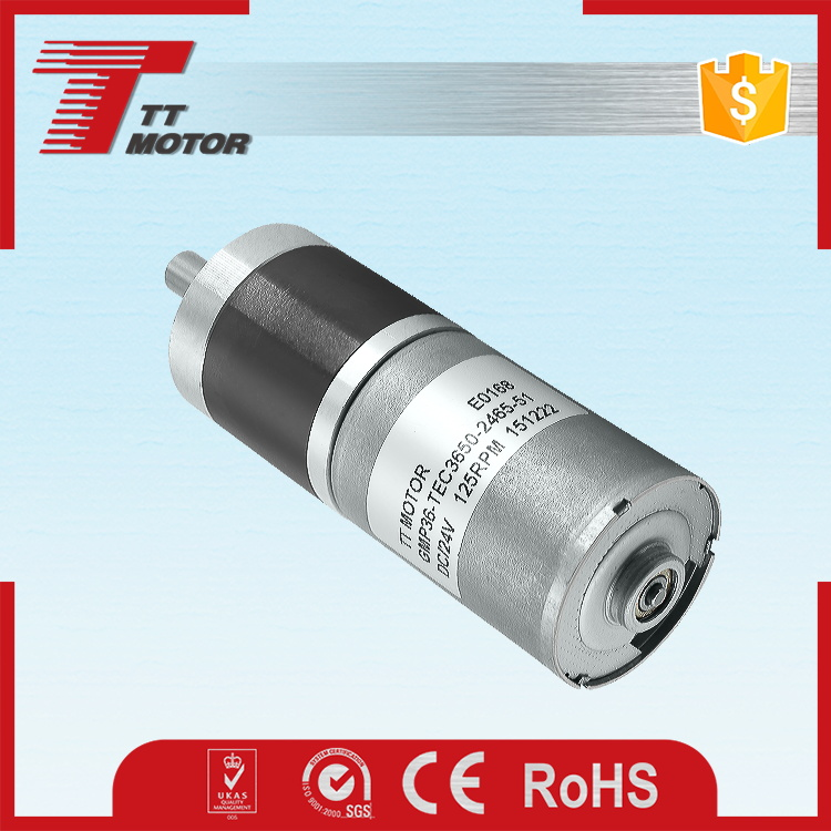 36mm planetary gear electric brushless motor 36v 350w