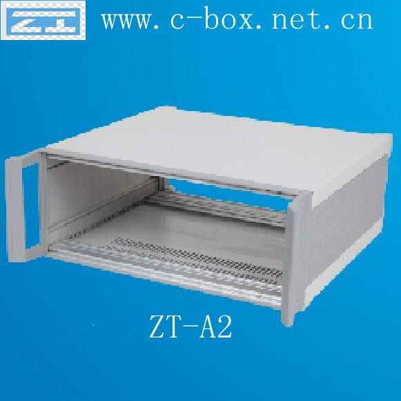 "ZT-A2 2U 19"" rack-mount chassis on Desktop for industrial control, communications, electronics, test systems, network control"