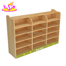 Daycare center kids wooden nursery furniture sets high quality kindergarten wooden baby nursery school furniture W08C229