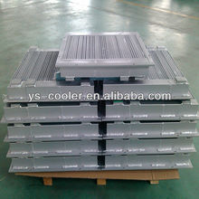 plate-bar oil cooler for machine tools