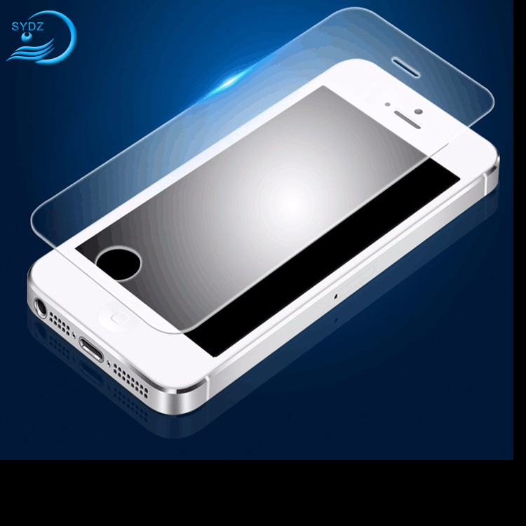 Anti-Fingerprint 9H Hardness Mobile Phone Screen Protector For Iphone 5