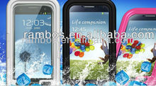Colorful Water Proof s4 Cases, Protector Waterproof Skin Case cover For Samsung Galaxy s4 i9500