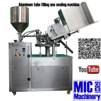 MICmachinery MIC-R60 with wholelife after-sale serivce silicone sealant filling machine with add Nitrogen station