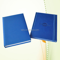 new design cheap leather debossing exercise book notebook printing