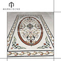 Luxurious home and hotel decoration marble floor inlay