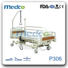 Three functions electric with manual crank hospital bed P306
