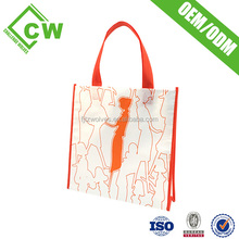 good quality and low price reusable trolley shopping bag
