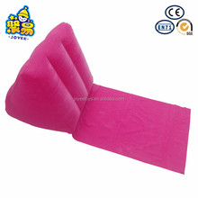 Wedge Travel Back Plastic Inflatable Wedge Pillow