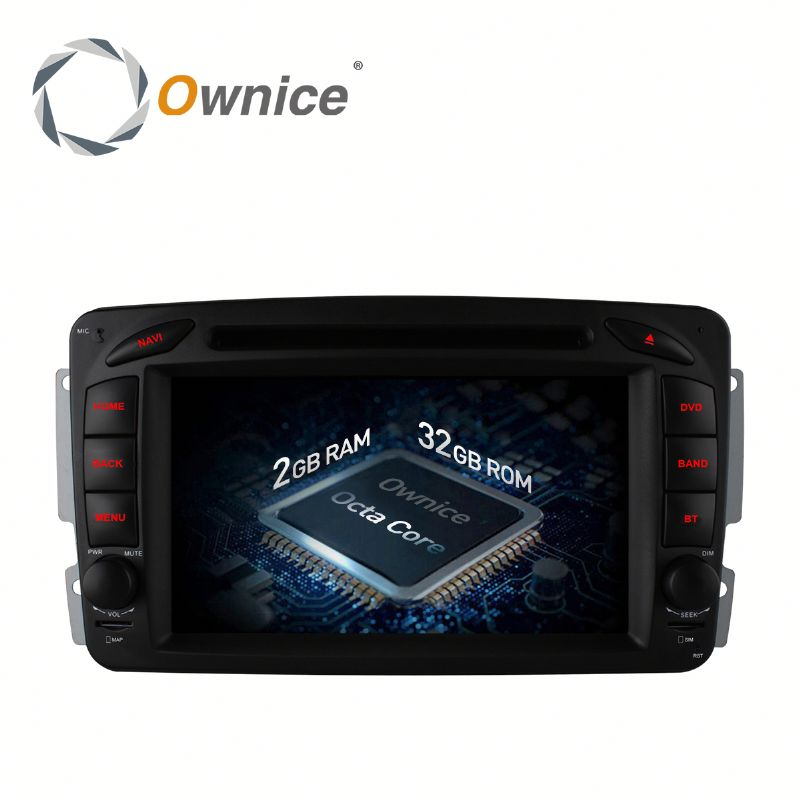 Ownice 8 Core Android 6.0 Car pc with gps for Benz CLK W209 support TV OBD DAB GPS NAVI RADIO Built 4G LTE