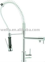 2014 New Fashion Style Brass Pull down Kitchen Faucet