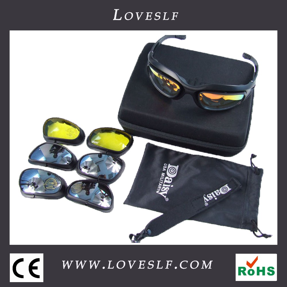 Loveslf Protective windproof tactical military glasses hot sale sports glasses