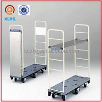 folding six-wheel outdoor flatbed hand cart