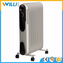 2017 Hot Sale Italian electric oil heater/ high quality oil filled portable radiator heater