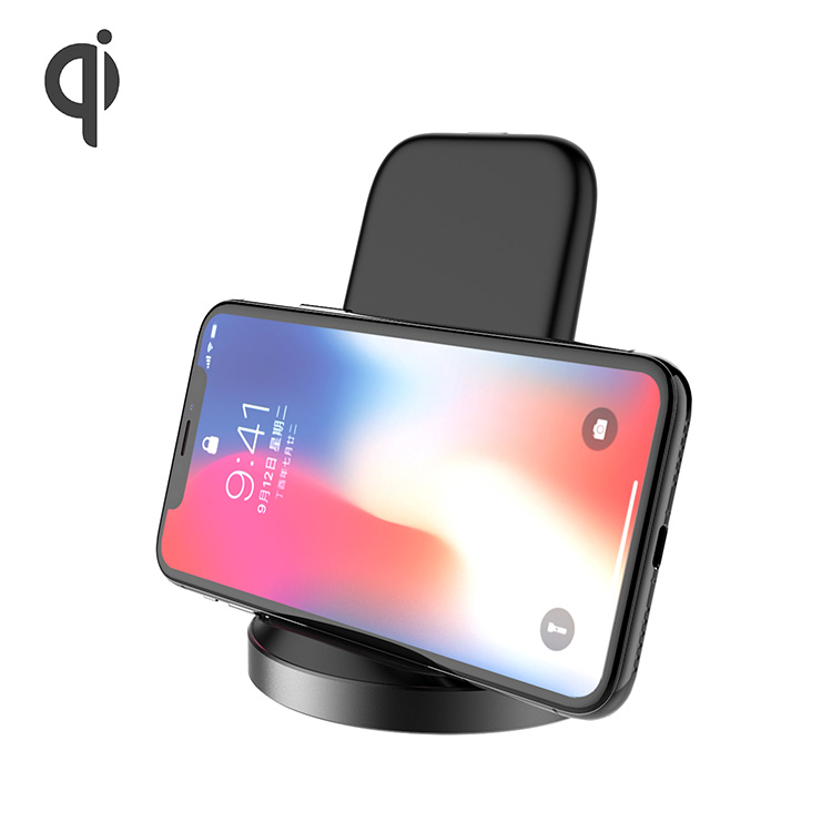 Factory Price Wholesale Fast Wireless Charger 2 Coils QI Wireless Charging Stand