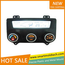 Precision vehicle injection plastic air conditioning panel moulded