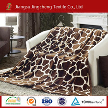 JC157 100% polyester two sides mantas blanket, flannel fleece and sherpa fleece blanket/sherpa mantas