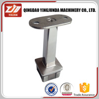 adjustable square tube support handrail fitting handrail bracket stainless steel handrail fittings