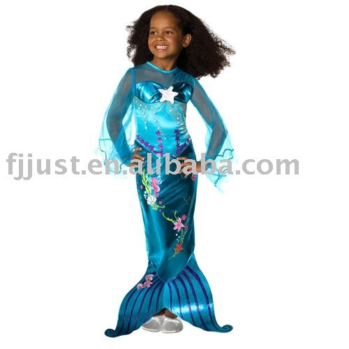 cheap mermaid kids costumes for sale