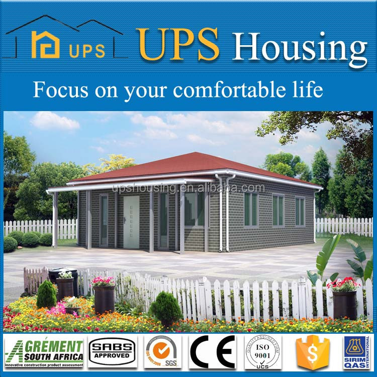 Environment protective china manufacturing guangzhou modern modular homes luxury prefabhouse for sale