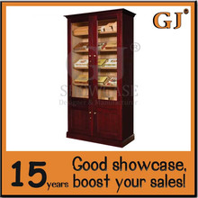 Modern cigar shop cigar display cabinet e cigarette display stand